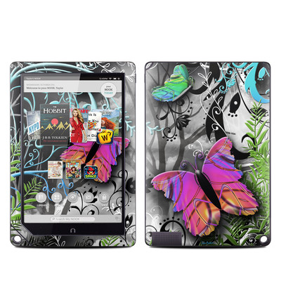 Barnes and Noble NOOK HD Plus Tablet Skin - Goth Forest