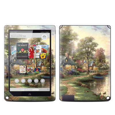 Barnes and Noble NOOK HD Plus Tablet Skin - Hometown Lake
