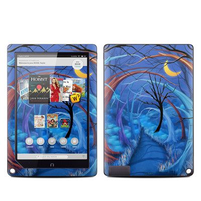 Barnes and Noble NOOK HD Plus Tablet Skin - Ichabods Forest