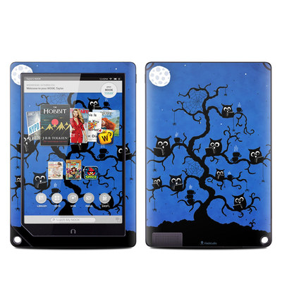 Barnes and Noble NOOK HD Plus Tablet Skin - Internet Cafe
