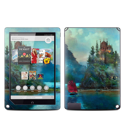 Barnes and Noble NOOK HD Plus Tablet Skin - Journey's End