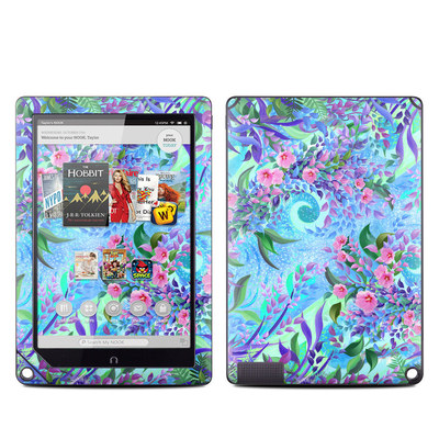 Barnes and Noble NOOK HD Plus Tablet Skin - Lavender Flowers