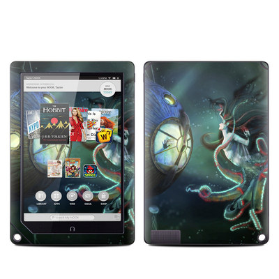 Barnes and Noble NOOK HD Plus Tablet Skin - 20000 Leagues