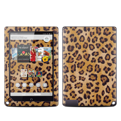 Barnes and Noble NOOK HD Plus Tablet Skin - Leopard Spots