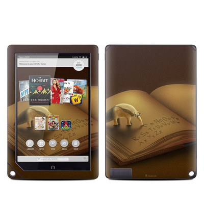 Barnes and Noble NOOK HD Plus Tablet Skin - Lettereater
