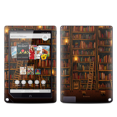 Barnes and Noble NOOK HD Plus Tablet Skin - Library