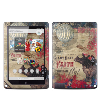 Barnes and Noble NOOK HD Plus Tablet Skin - Leap Of Faith