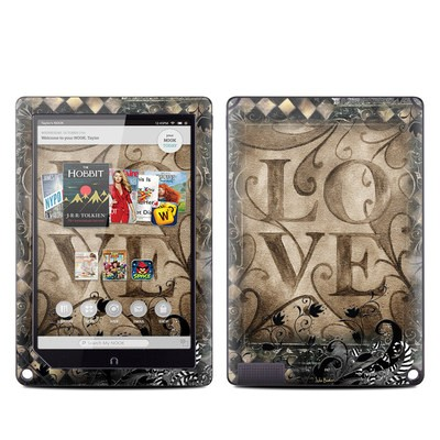 Barnes and Noble NOOK HD Plus Tablet Skin - Love's Embrace