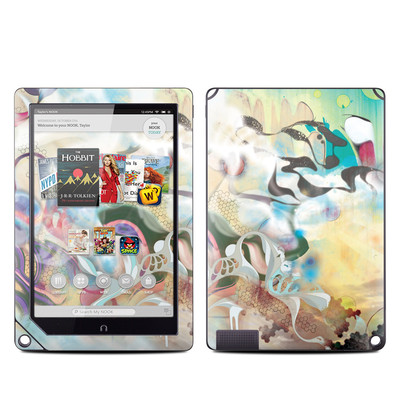 Barnes and Noble NOOK HD Plus Tablet Skin - Lucidigraff