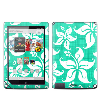 Barnes and Noble NOOK HD Plus Tablet Skin - Mea Aloha