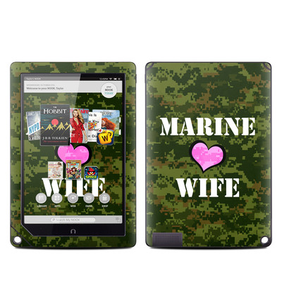 Barnes and Noble NOOK HD Plus Tablet Skin - Marine Wife
