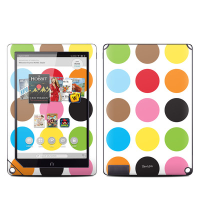 Barnes and Noble NOOK HD Plus Tablet Skin - Multidot