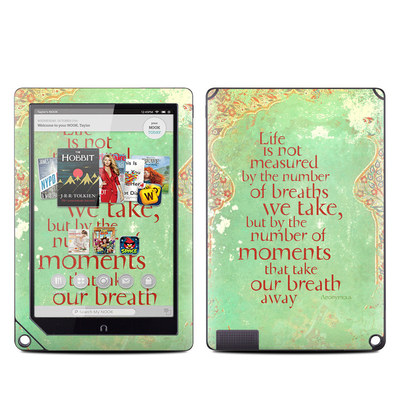 Barnes and Noble NOOK HD Plus Tablet Skin - Measured