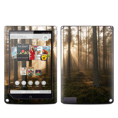 Barnes and Noble NOOK HD Plus Tablet Skin - Misty Trail