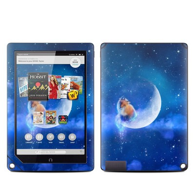 Barnes and Noble NOOK HD Plus Tablet Skin - Moon Fox