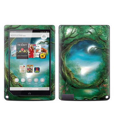 Barnes and Noble NOOK HD Plus Tablet Skin - Moon Tree
