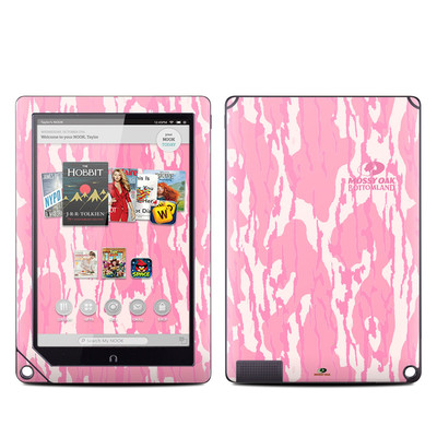 Barnes and Noble NOOK HD Plus Tablet Skin - New Bottomland Pink