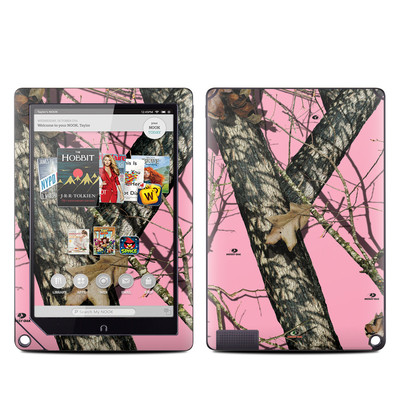 Barnes and Noble NOOK HD Plus Tablet Skin - Break-Up Pink