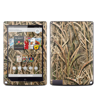 Barnes and Noble NOOK HD Plus Tablet Skin - Shadow Grass Blades