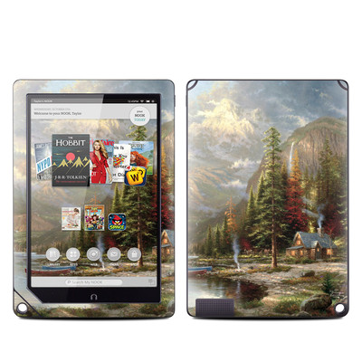 Barnes and Noble NOOK HD Plus Tablet Skin - Mountain Majesty