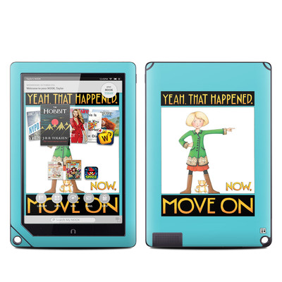 Barnes and Noble NOOK HD Plus Tablet Skin - Move On