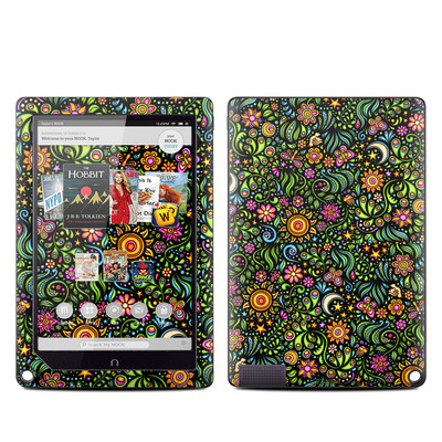 Barnes and Noble NOOK HD Plus Tablet Skin - Nature Ditzy