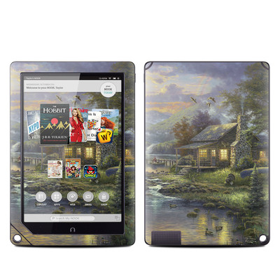 Barnes and Noble NOOK HD Plus Tablet Skin - Natures Paradise