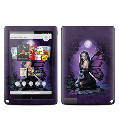 Barnes and Noble NOOK HD Plus Tablet Skin - Night Fairy