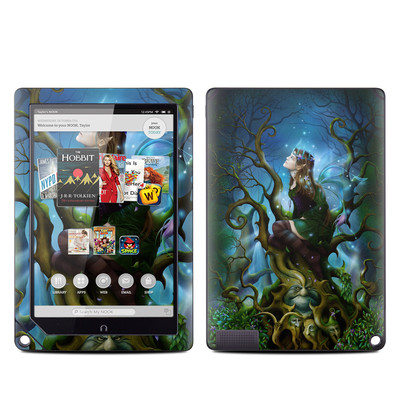 Barnes and Noble NOOK HD Plus Tablet Skin - Nightshade Fairy