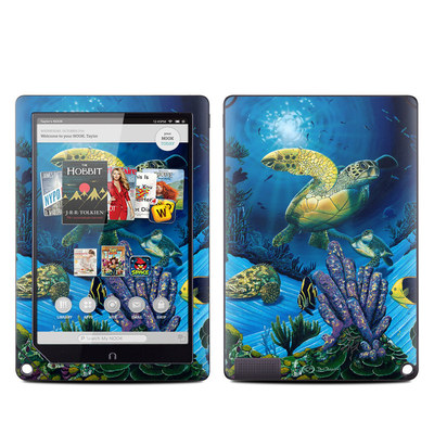 Barnes and Noble NOOK HD Plus Tablet Skin - Ocean Fest