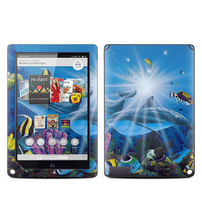 Barnes and Noble NOOK HD Plus Tablet Skin - Ocean Friends