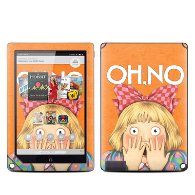 Barnes and Noble NOOK HD Plus Tablet Skin - Oh No