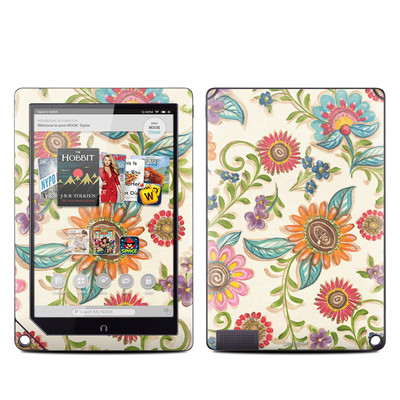 Barnes and Noble NOOK HD Plus Tablet Skin - Olivia's Garden