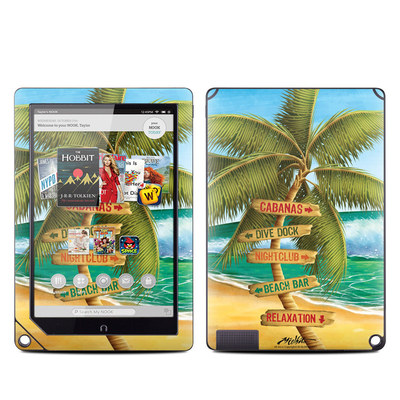 Barnes and Noble NOOK HD Plus Tablet Skin - Palm Signs