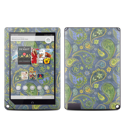 Barnes and Noble NOOK HD Plus Tablet Skin - Pallavi Paisley