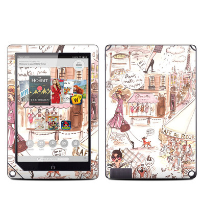 Barnes and Noble NOOK HD Plus Tablet Skin - Paris Makes Me Happy