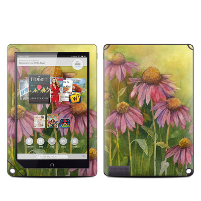 Barnes and Noble NOOK HD Plus Tablet Skin - Prairie Coneflower