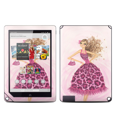 Barnes and Noble NOOK HD Plus Tablet Skin - Perfectly Pink