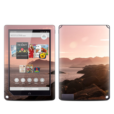 Barnes and Noble NOOK HD Plus Tablet Skin - Pink Sea