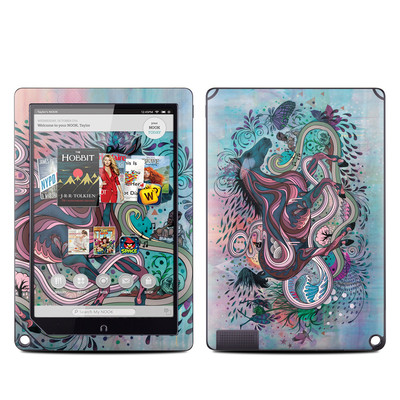 Barnes and Noble NOOK HD Plus Tablet Skin - Poetry in Motion