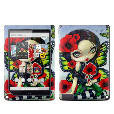 Barnes and Noble NOOK HD Plus Tablet Skin - Poppy Magic