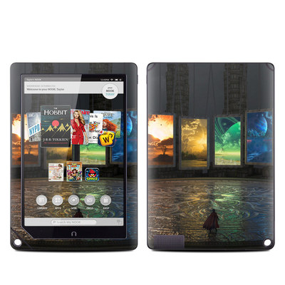 Barnes and Noble NOOK HD Plus Tablet Skin - Portals