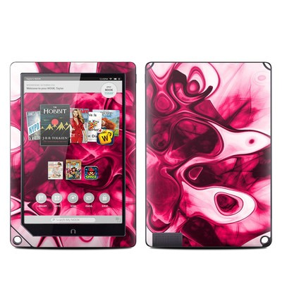 Barnes and Noble NOOK HD Plus Tablet Skin - Pink Splatter