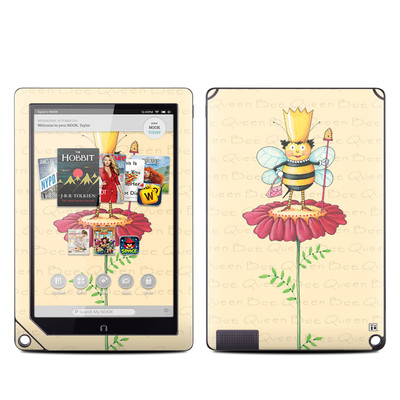 Barnes and Noble NOOK HD Plus Tablet Skin - Queen Bee