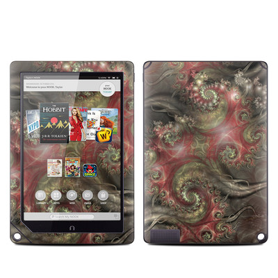 Barnes and Noble NOOK HD Plus Tablet Skin - Reaching Out