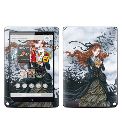 Barnes and Noble NOOK HD Plus Tablet Skin - Raven's Treasure