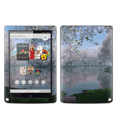 Barnes and Noble NOOK HD Plus Tablet Skin - Sakura