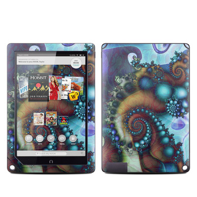 Barnes and Noble NOOK HD Plus Tablet Skin - Sea Jewel