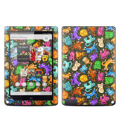 Barnes and Noble NOOK HD Plus Tablet Skin - Sew Catty