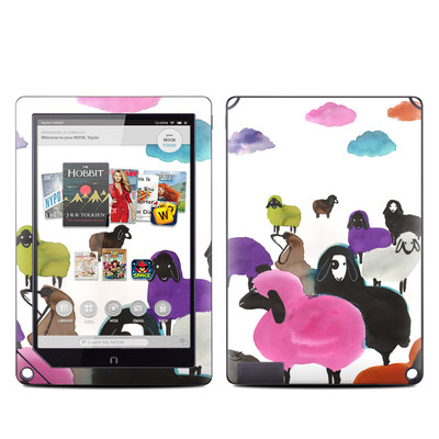 Barnes and Noble NOOK HD Plus Tablet Skin - Sheeps